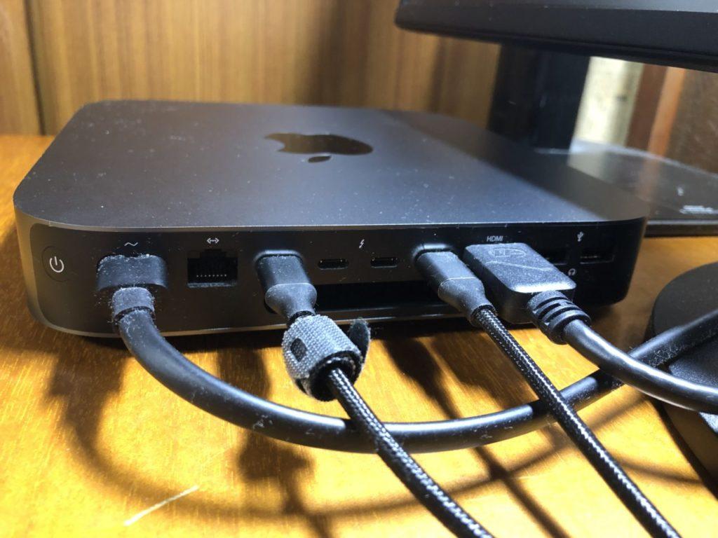 ケーブルの接続