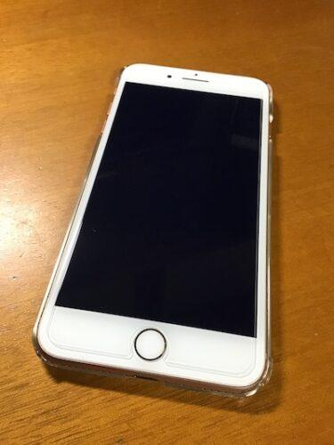 IPhone8Plusに貼った