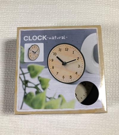 スタンド付き時計 ナチュラルパッケージ